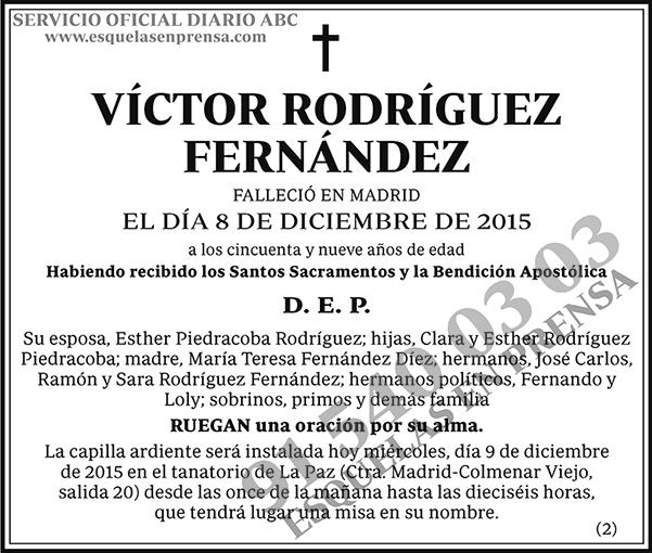 Victor Rodríguez Fernández